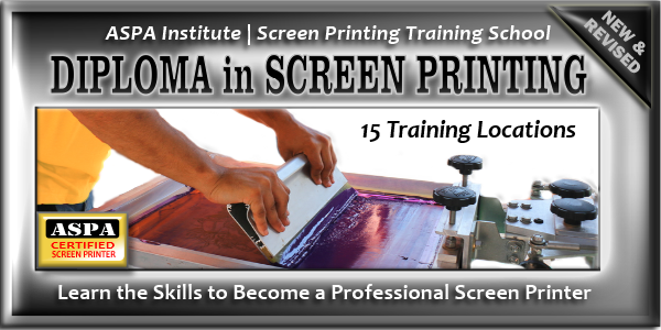 Join Thousands of Screen Printers. Become ASPA Certified.