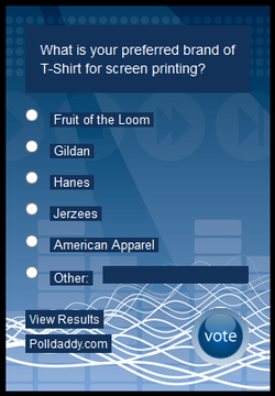 What is your preferred brand of T-Shirt for screen printing?