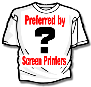 T-Shirt brand preferred by screen printers