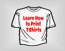 learn how to print t-shirts