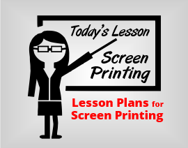 how to teach screen printing