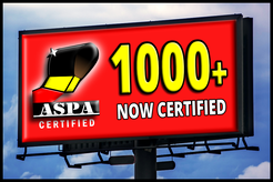 ASPA Certified Screen Printing program reachs 1000 printers milestone.