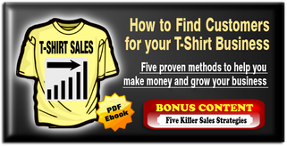 How to find customers for your t-shirt printing business ebooklet