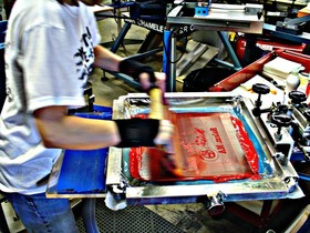 Screen Printing: Career training for rehabilitation